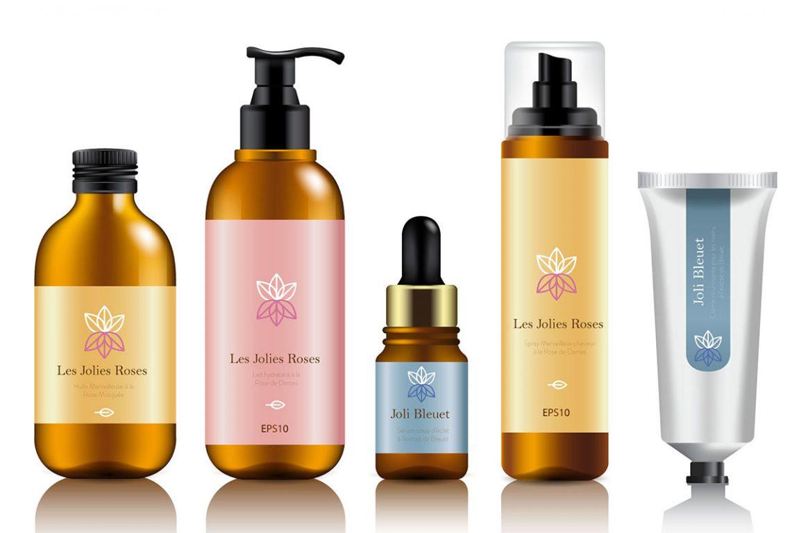 Etiquettes adhésives cosmetiques - ER LABEL